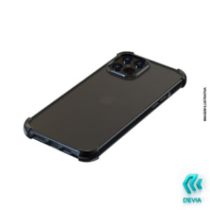 Capa Para iPhone 12 Pro Max Glitter Shockproof Devia Preta