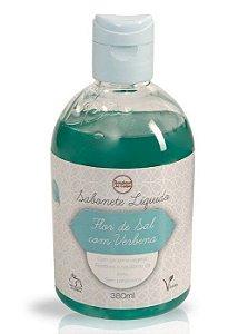 Sabonete Líquido Flor de Sal com Verbena 380ml - Boutique do Corpo