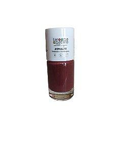 Esmalte Hipoalergênico Fortalecedor Natural e Vegano 1617 – Brandy Wine 10ml - Twoone Onetwo