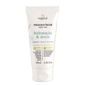 Máscara Facial Hidratação&Detox 60ml - WNF