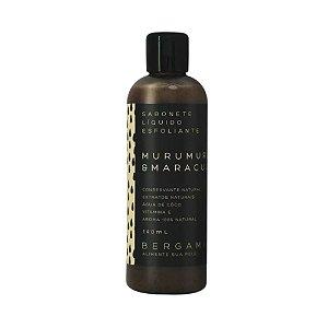 Sabonete Líquido Esfoliante de Murumuru e Maracujá 140ml – Bergamia