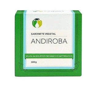 Sabonete Vegetal Natural de Andiroba 100g – Cativa Natureza