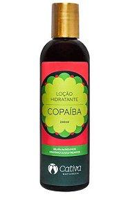 Loção Hidratante Corporal Natural de Copaíba 240ml – Cativa Natureza