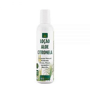 Loção Natural Aloe Citronela 200ml – Livealoe