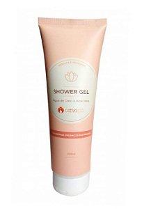 Shower Gel Natural de Aloe Vera Cativa SPA 250ml - Cativa Natureza