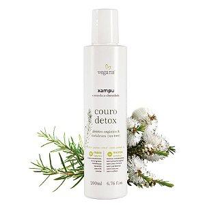 Xampu Couro Detox Tea Tree 200ml - WNF