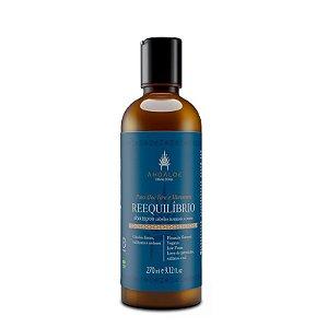 Shampoo Natural Reequilíbrio 270ml - AhoAloe