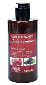 Condicionador Natural e Vegano Romã e Amora 250ml - Arte dos Aromas
