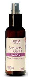 Água Floral Natural de Gerânio 120ml - Arte Dos Aromas