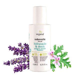 Sabonete Facial Hidratação&Detox 120ml - WNF