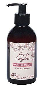 Loção Hidratante Corporal  Flor de Cerejeira 220ml - Arte dos Aromas