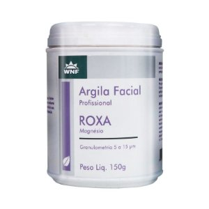 Argila Facial Profissional Roxa 150g – WNF