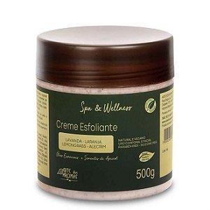 Creme Esfoliante Natural e Vegano Apricot  500g -Arte dos Aromas