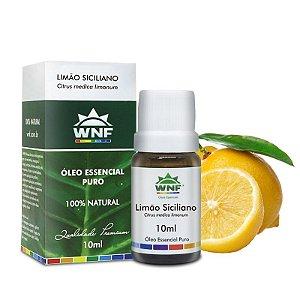 Óleo Essencial Natural de Limão Siciliano 10ml – WNF
