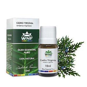 Óleo Essencial Natural de Cedro Virgínia 10ml - WNF