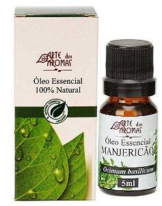 Óleo Essencial de Manjericão 5ml - Arte dos Aromas