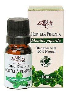 Óleo Essencial de Hortelã Pimenta 10ml - Arte dos Aromas