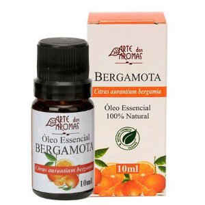 Óleo Essencial de Bergamota 10ml - Arte dos Aromas