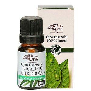 Óleo Essencial de Eucalipto Citriodora 10ml - Arte dos Aromas