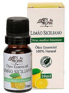 Óleo Essencial de Limão Siciliano 10ml - Arte dos Aromas