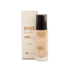 Base Líquida Matte Natural 30ml – Cativa Natureza - Cor 1