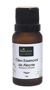 Óleo Essencial Natural de Alecrim 15ml – Livealoe