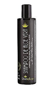 Shampoo de Aloe Vera 300ml -Livealoe