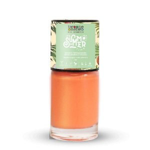 Esmalte It's Summer Time Hipoalergênico  636 Coral Pink 10ml -Twoone Onetwo