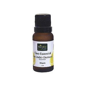 Óleo Essencial Natural de Limão Siciliano 12ml - Livealoe
