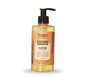 Shampoo Cachos Terapia Natural Vegano Chia e Linhaça 250ml- Twoone Onetwo