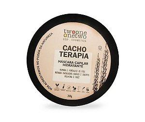 Máscara Capilar Hidratante Cacho Terapia Natural Vegana 200g -Twoone Onetwo