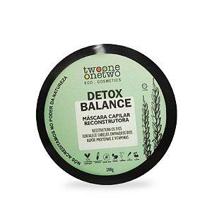 Máscara Capilar Reconstrutora Detox Balance Natural Vegana 200g - Twoone Onetwo
