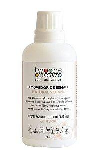 Removedor de Esmalte sem acetona Coco e Lavanda 120ml - Twoone Onetwo