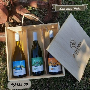 Kit  Vinhos Bee Dia dos Pais