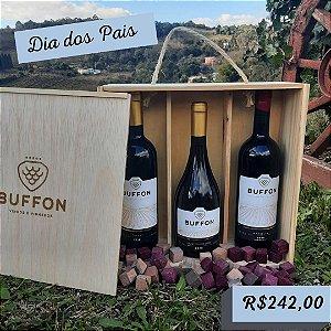 Kit Vinhos Finos Dias dos Pais