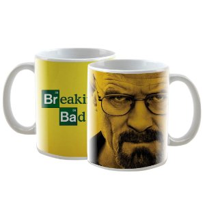 Caneca Personalizada Breaking Bad Amarela 325mL