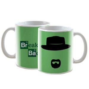 Caneca Personalizada Breaking Bad Verde 325mL