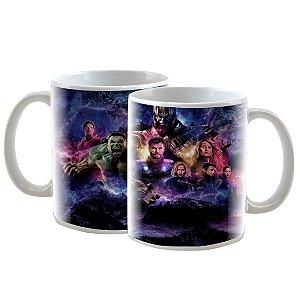 Caneca Personalizada The Avengers (Os Vingadores) Endgame 325mL - 2