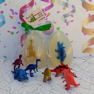 Lembrancinha de Aniversário Dinossauro Jurassic World Sabonete