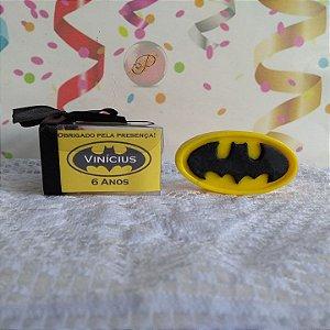 Lembrancinha do Batman Sabonete Artesanal Aniversário