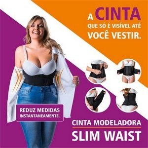 Cinta Modeladora Slim Waist - Hidrolight