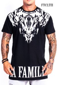 CAMISETA DIAMOND PRETA E BRANCA - Fit Clothing Line