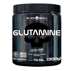 L-GLUTAMINE (300G) - BLACK SKULL