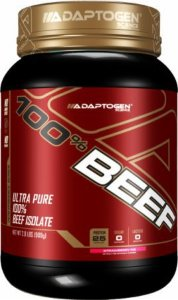 100% Beef 909g - Adaptogen Science