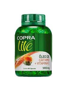 Óleo de Cártamo + Vitamina E 1000mg 60 Caps - COPRA LIVE
