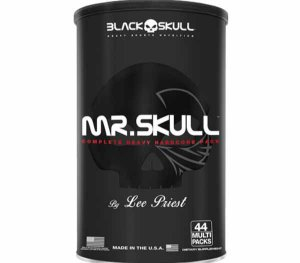 Mr. Skull (44 packs) - Black Skull
