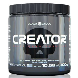 Creatina Creator (300g) - Black Skull