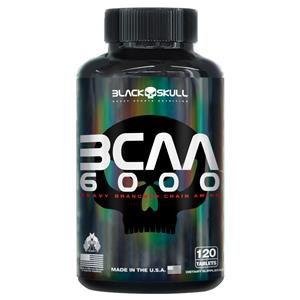 BCAA 6000 (120 tabs) - Black Skull