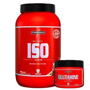 ISO Premium (907g) + Glutamine (150g) - IntegralMedica