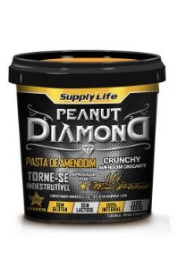 Pasta de Amendoim Peanut Diamond Crunchy (1kg) - Supply Life